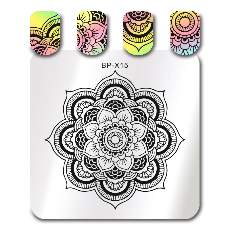 Born Pretty BP-X15 Stamping Plate