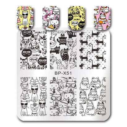 Born Pretty BP X51 Stamping Plate