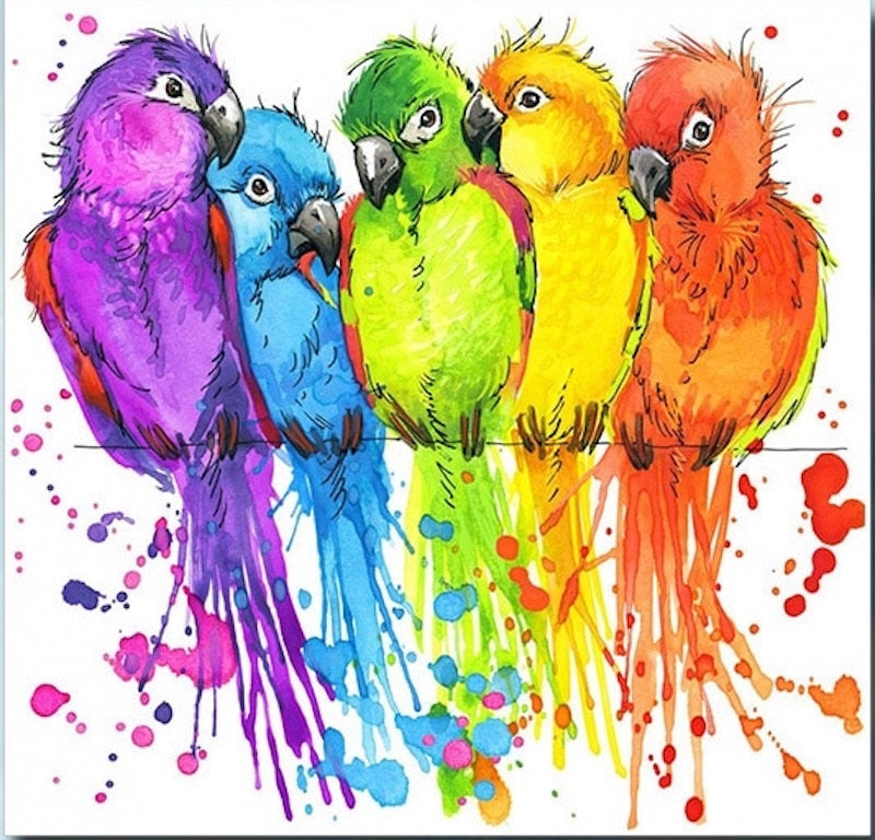Birds of a Feather Diamond Painting Kit