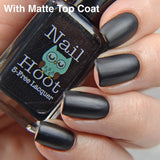 Basic Black Multitasking Stamping Polish