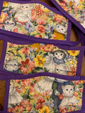 Vintage Kitten Fabric Face Mask