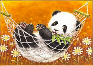 Lazy Days Panda Diamond Painting Kit