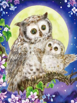 Owl Love You This Much Diamond Painting Kit