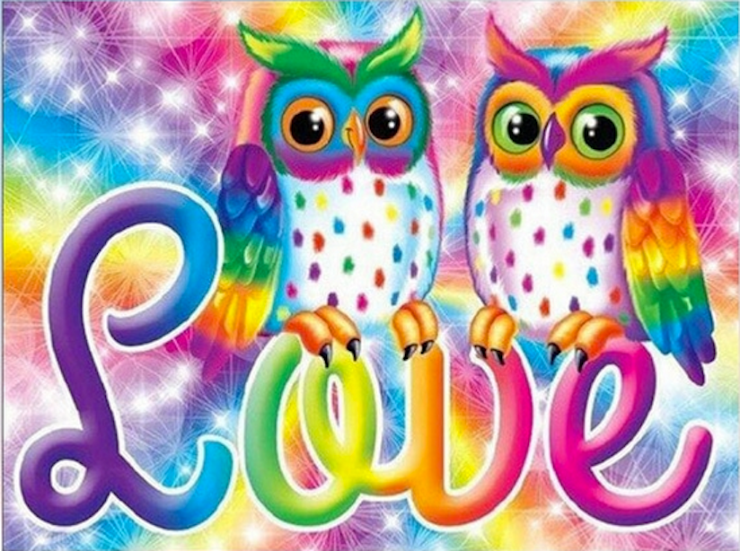 Owl You Need Is Love Diamond Painting Kit