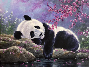 Panda Dreams Diamond Painting Kit