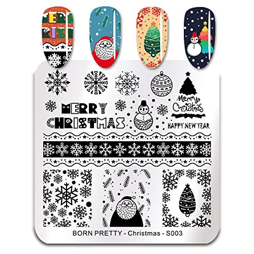 Born Pretty S003 Christmas Stamping Plate