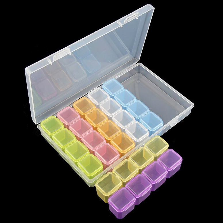 Diamond Painting Diamond Sorting Storage Box