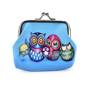 Adorable Owl Small Coin Purse