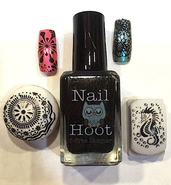 Bath And Beauty - 5 Free Black Stamping Polish By Nail Hoot