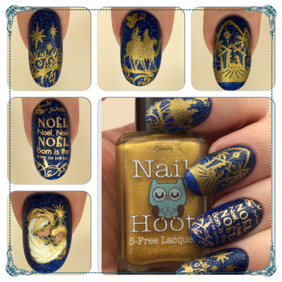Bath And Beauty - 5 Free Liquid Gold Stamping Polish By Nail Hoot