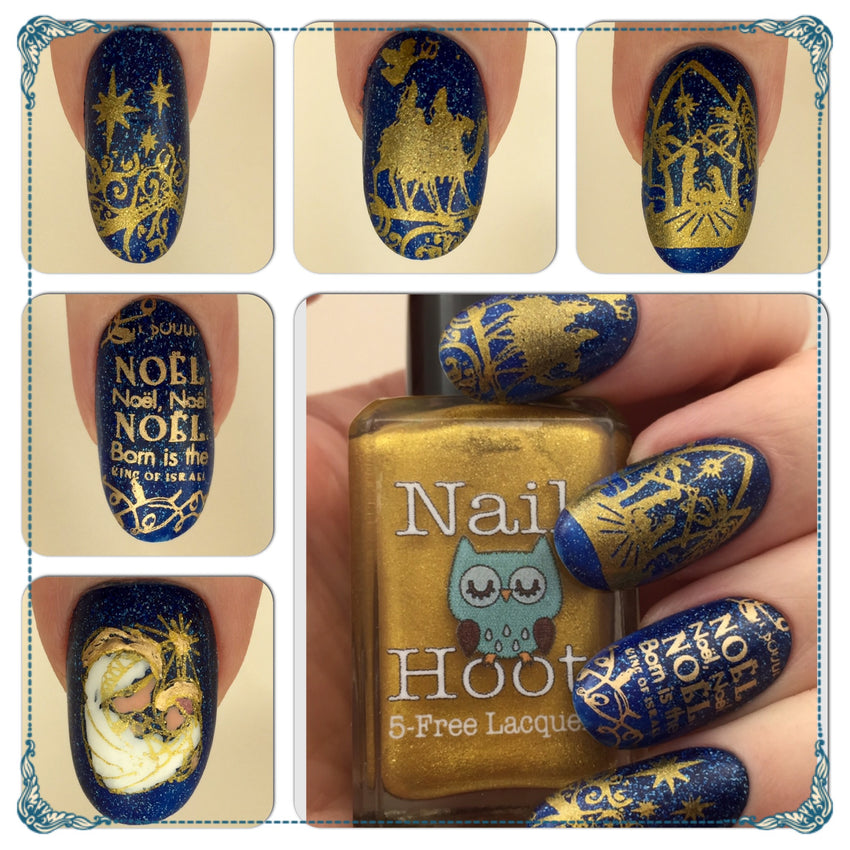 Liquid Gold Stamping Indie Polish – Nail Hoot