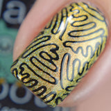 Bath And Beauty - Basic Black Multitasking Stamping Polish