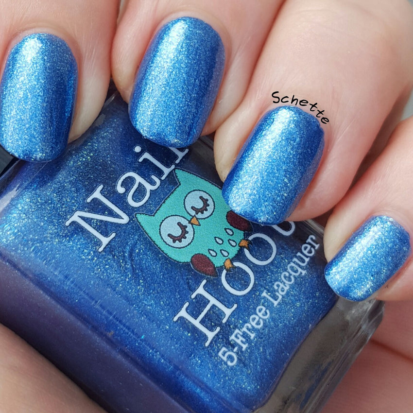 Bath And Beauty - Blue Geranium By Nail Hoot (Fancy Floral)