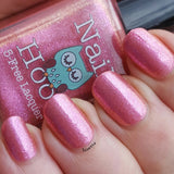 Bath And Beauty - Hanging Fuschia By Nail Hoot (Fancy Floral)