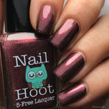 Bath And Beauty - January Garnet Birthstone Indie Nail Polish