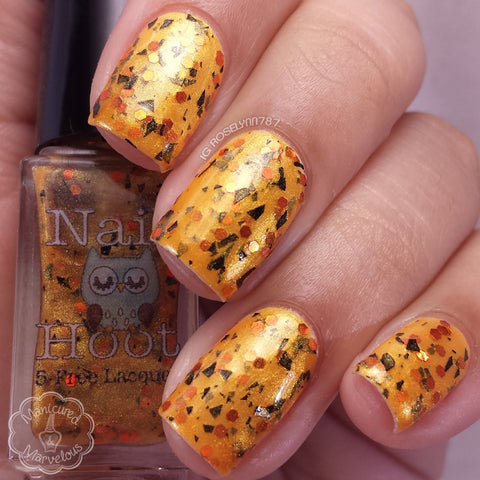 Bath And Beauty - Jeepers Creepers Halloween Polish By Nail Hoot