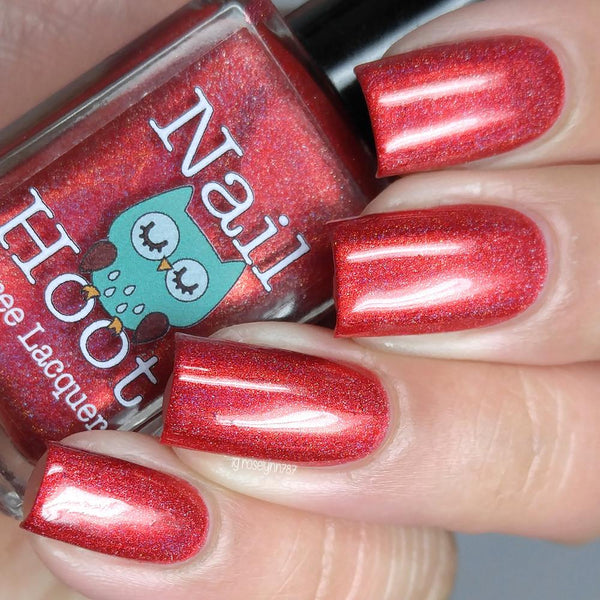 Bath And Beauty - July Ruby Birthstone Indie Nail Polish