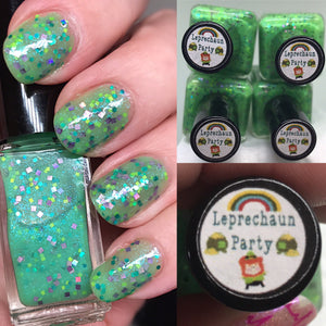 Bath And Beauty - Leprechaun Party St. Patrick's Day Indie Polish