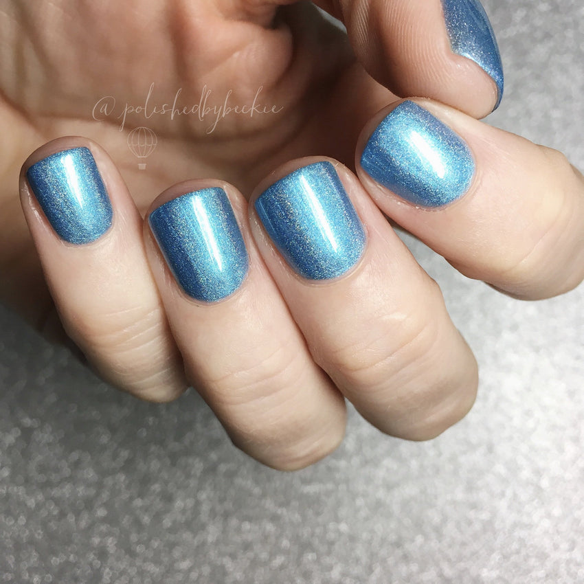 Bath And Beauty - March Aquamarine Birthstone Indie Nail Polish