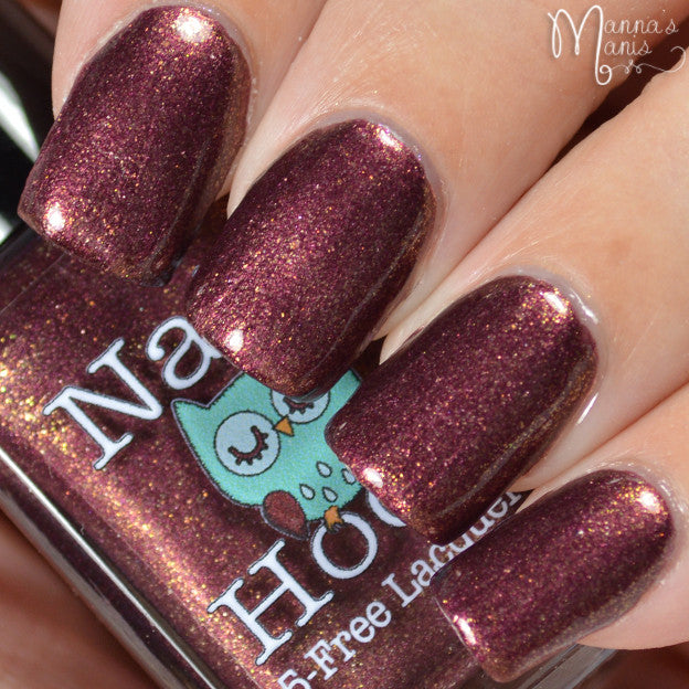 Bath And Beauty - Midnight Sun Pansy By Nail Hoot (Fancy Floral)