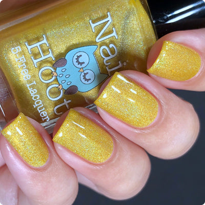 Bath And Beauty - November Citrine Birthstone Indie Polish
