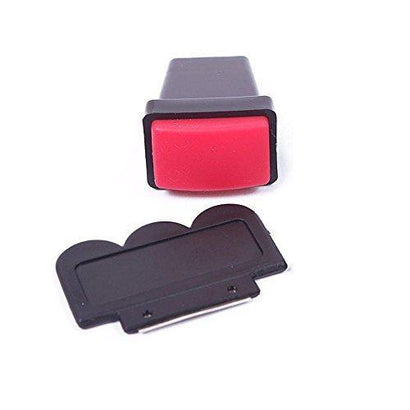 Bath And Beauty - Red Rectangle Nail Stamper