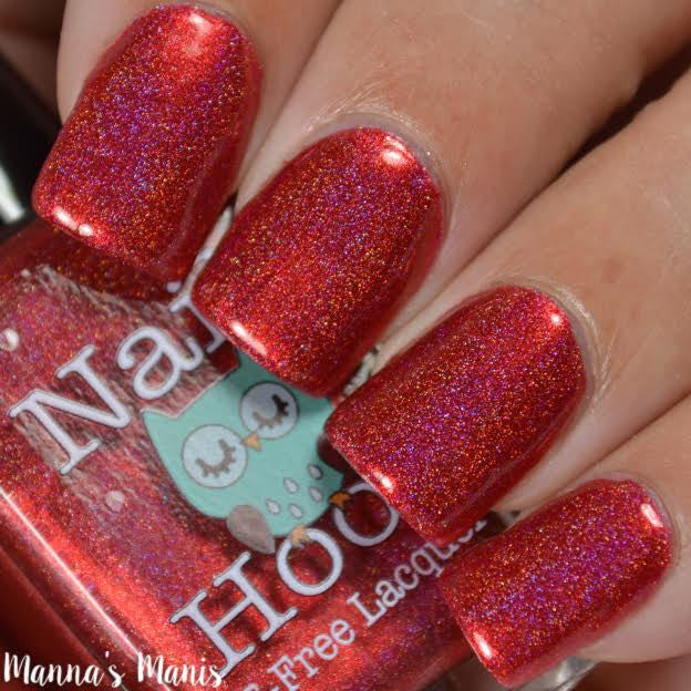 Bath And Beauty - Ruby July Birthstone Nail Polish By Nail Hoot