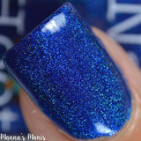 Bath And Beauty - September Sapphire Birthstone Indie Nail Polish