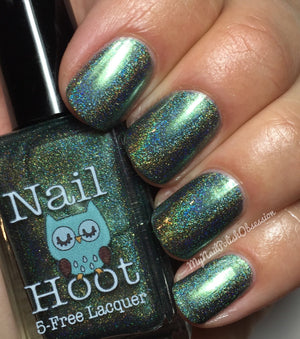 Bath And Beauty - The Olive Branch By Nail Hoot (Bible Stories)