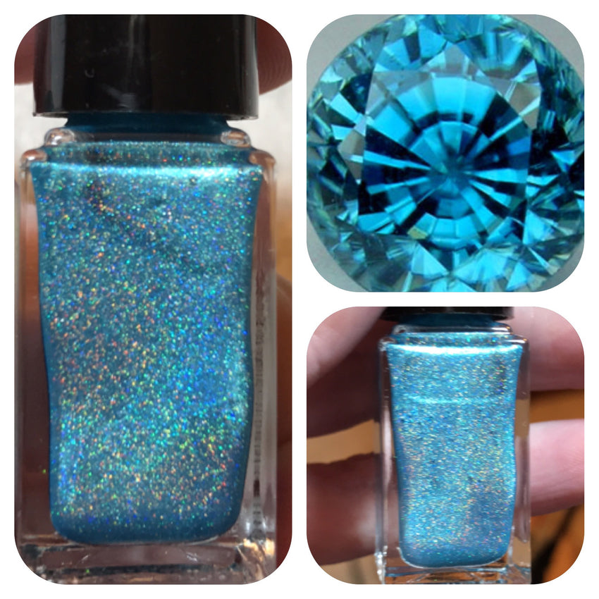 Bath And Beauty - Turquoise December Birthstone Nail Polish By Nail Hoot
