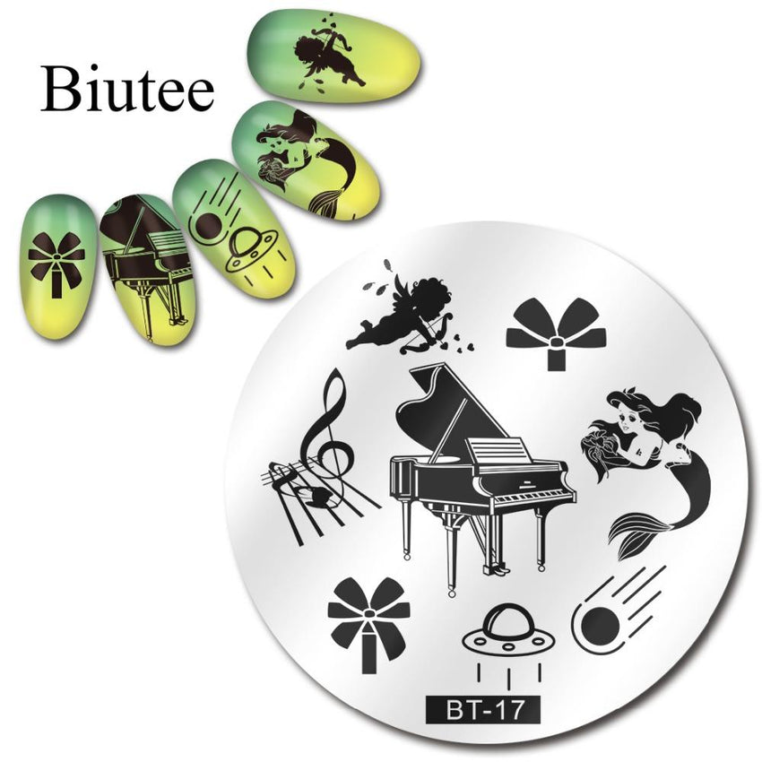 Biutee BT 17 Stamping Plate