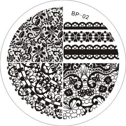 Born Pretty BP 02 Stamping Plate