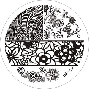 Born Pretty BP 07 Stamping Plate