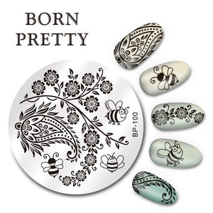 Born Pretty BP 100 Stamping Plate
