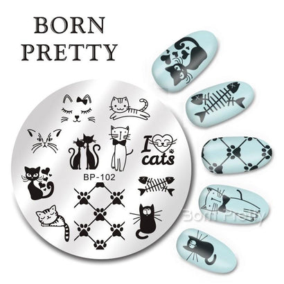 Born Pretty BP 102 Stamping Plate