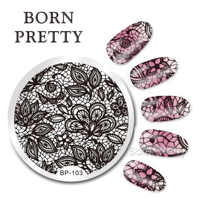 Born Pretty BP 103 Stamping Plate