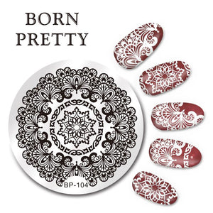 Born Pretty BP 104 Stamping Plate