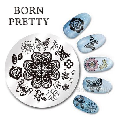 Born Pretty BP 105 Stamping Plate