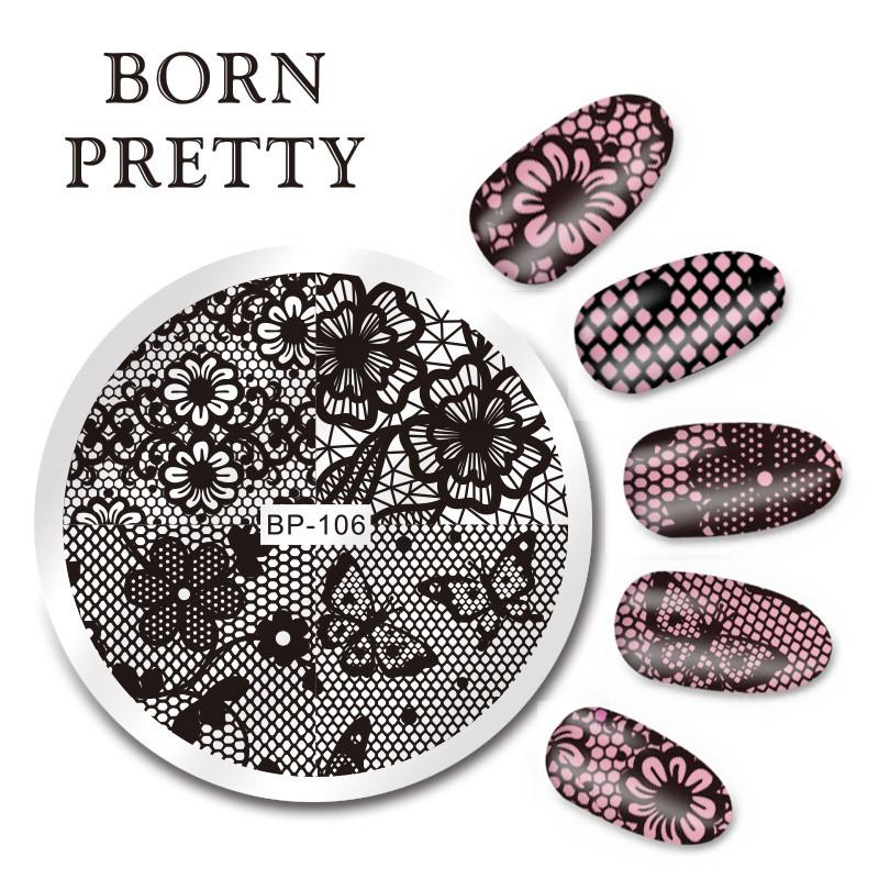 Born Pretty BP 106 Stamping Plate