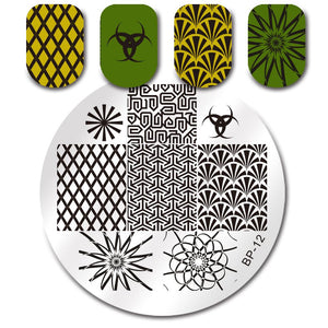 Born Pretty BP 12 Stamping Plate