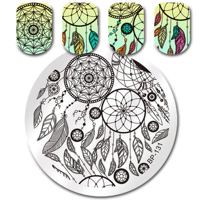 Born Pretty BP 131 Stamping Plate