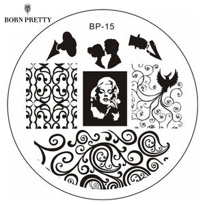 Born Pretty BP 15 Stamping Plate