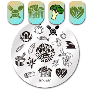 Born Pretty BP 150 Stamping Plate