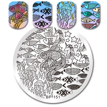 Born Pretty BP 151 Stamping Plate