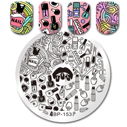 Born Pretty BP 153 Stamping Plate