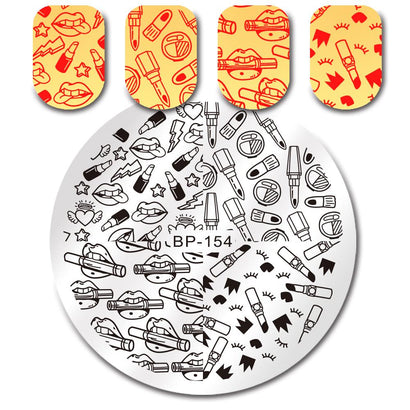 Born Pretty BP 154 Stamping Plate