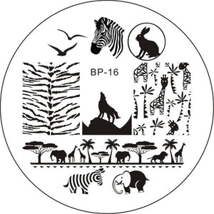 Born Pretty BP 16 Stamping Plate