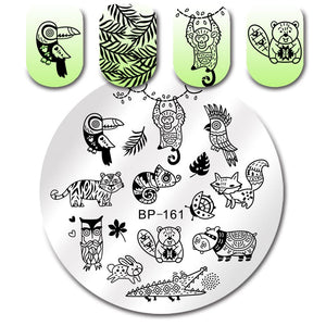 Born Pretty BP 161 Stamping Plate
