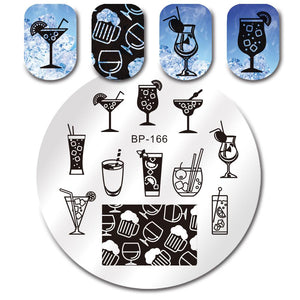 Born Pretty BP 166 Stamping Plate