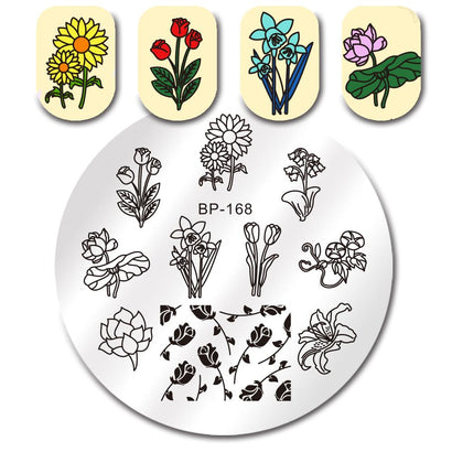 Born Pretty BP 168 Stamping Plate